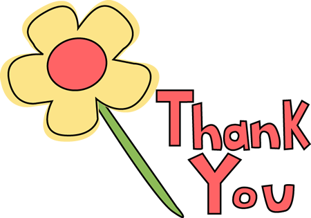 thinking of you clipart thank flower