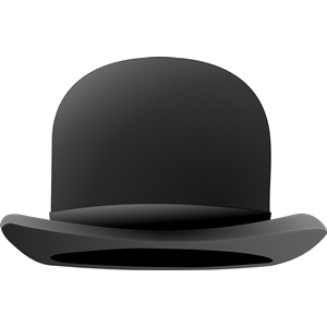 magaritte clipart magritte hat