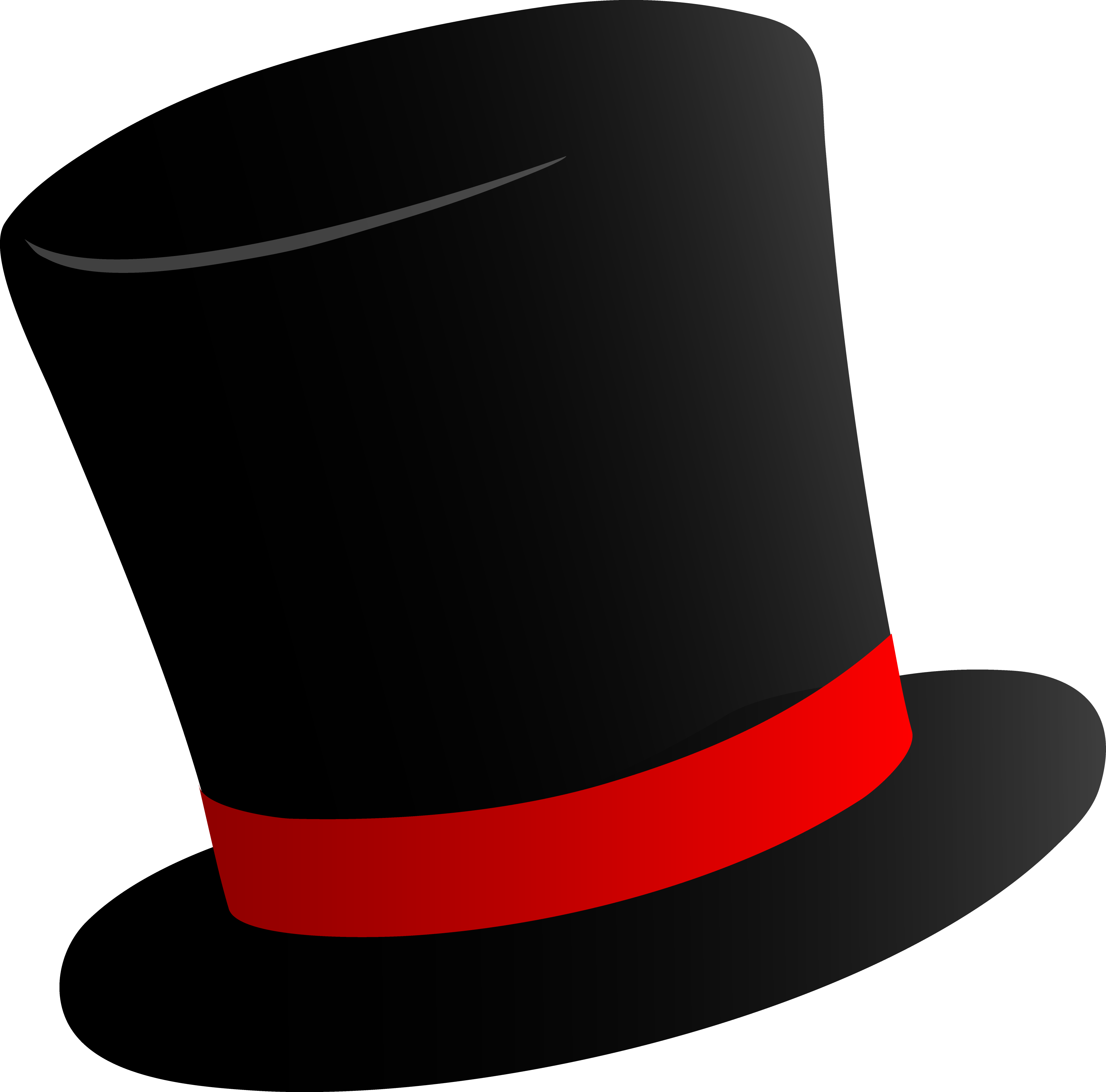 top hat clipart cartoon