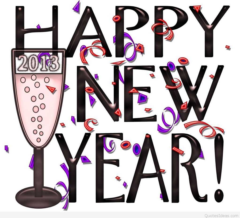 happy new year clipart small