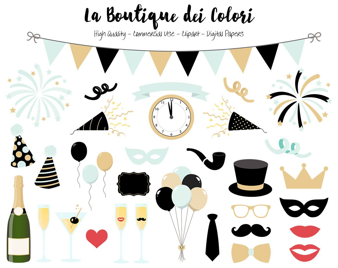 new year clipart small