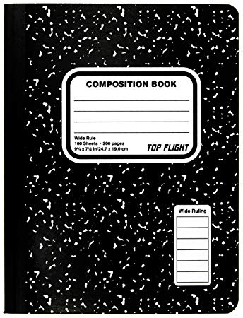 notebook clipart composition