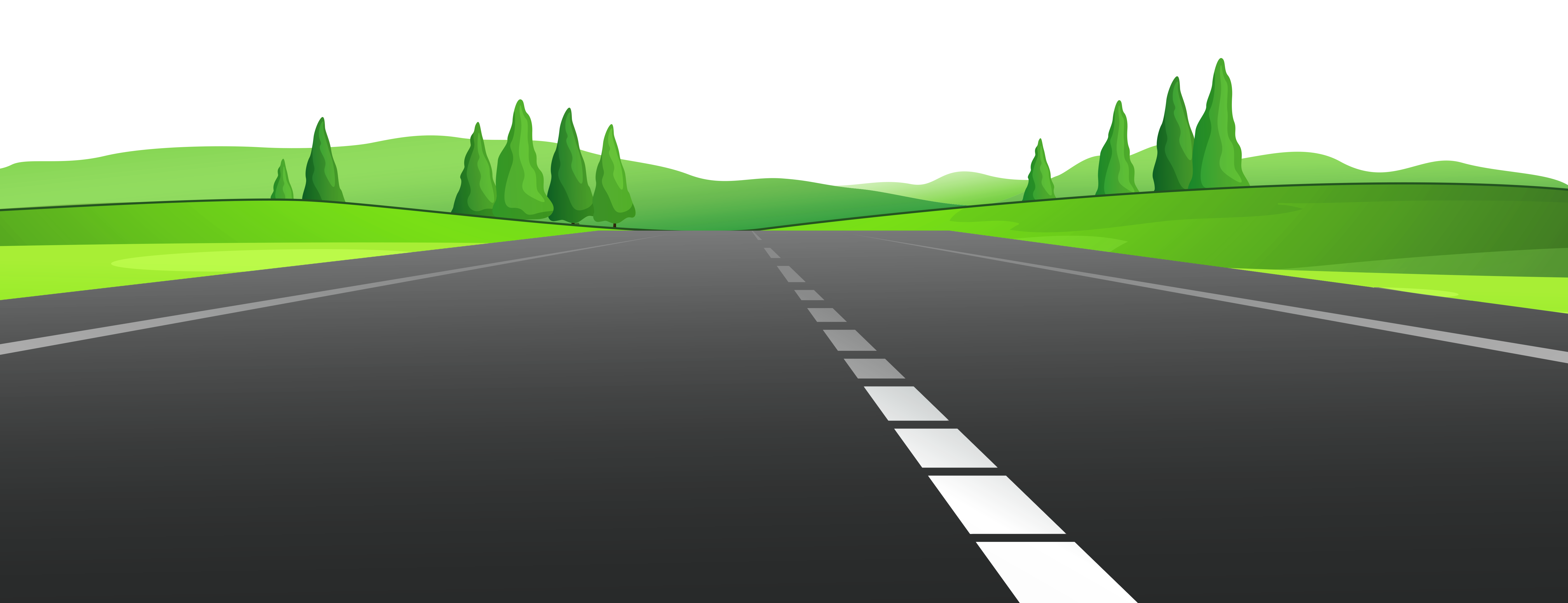 clipart road background
