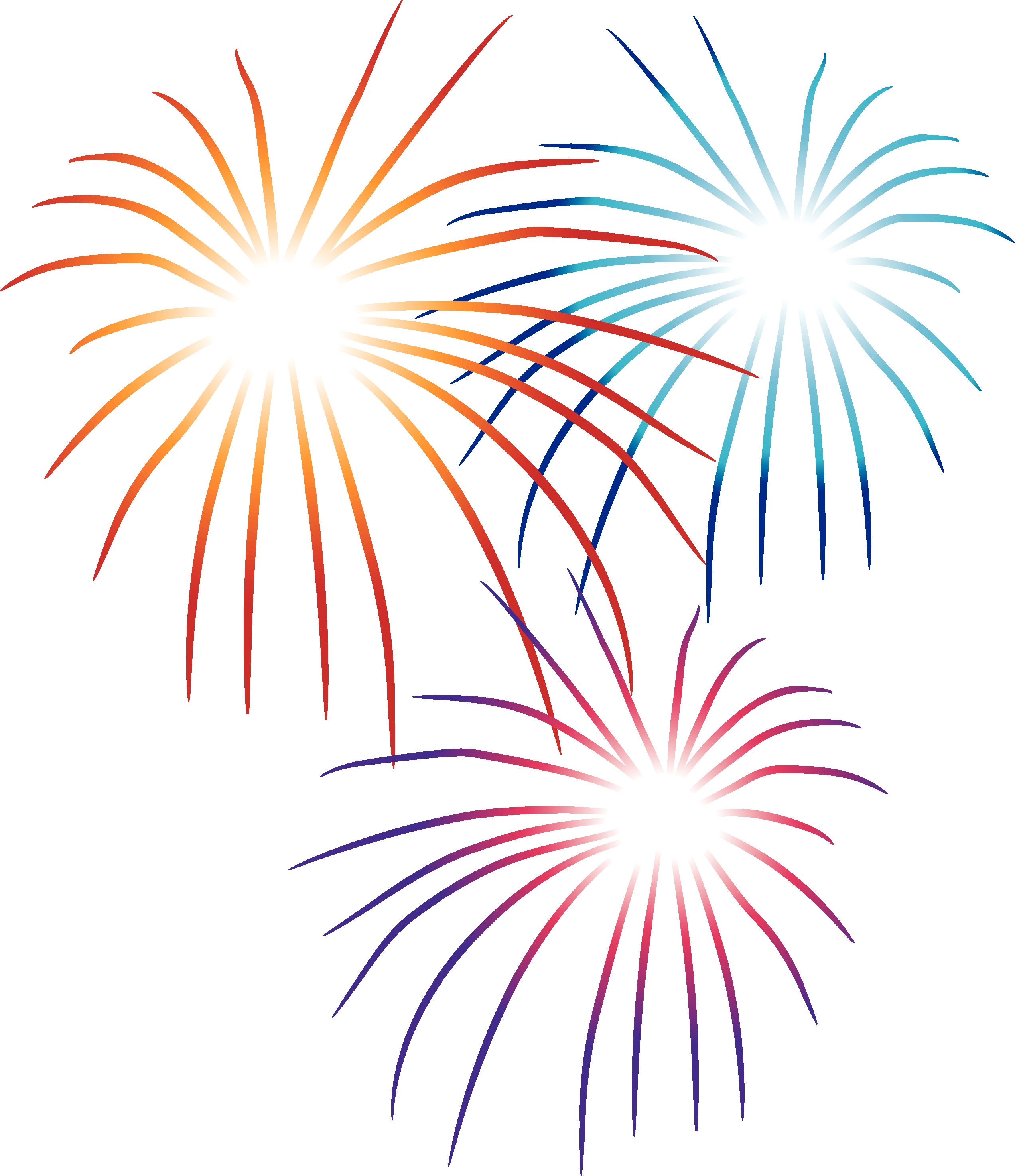 new years clipart free firework