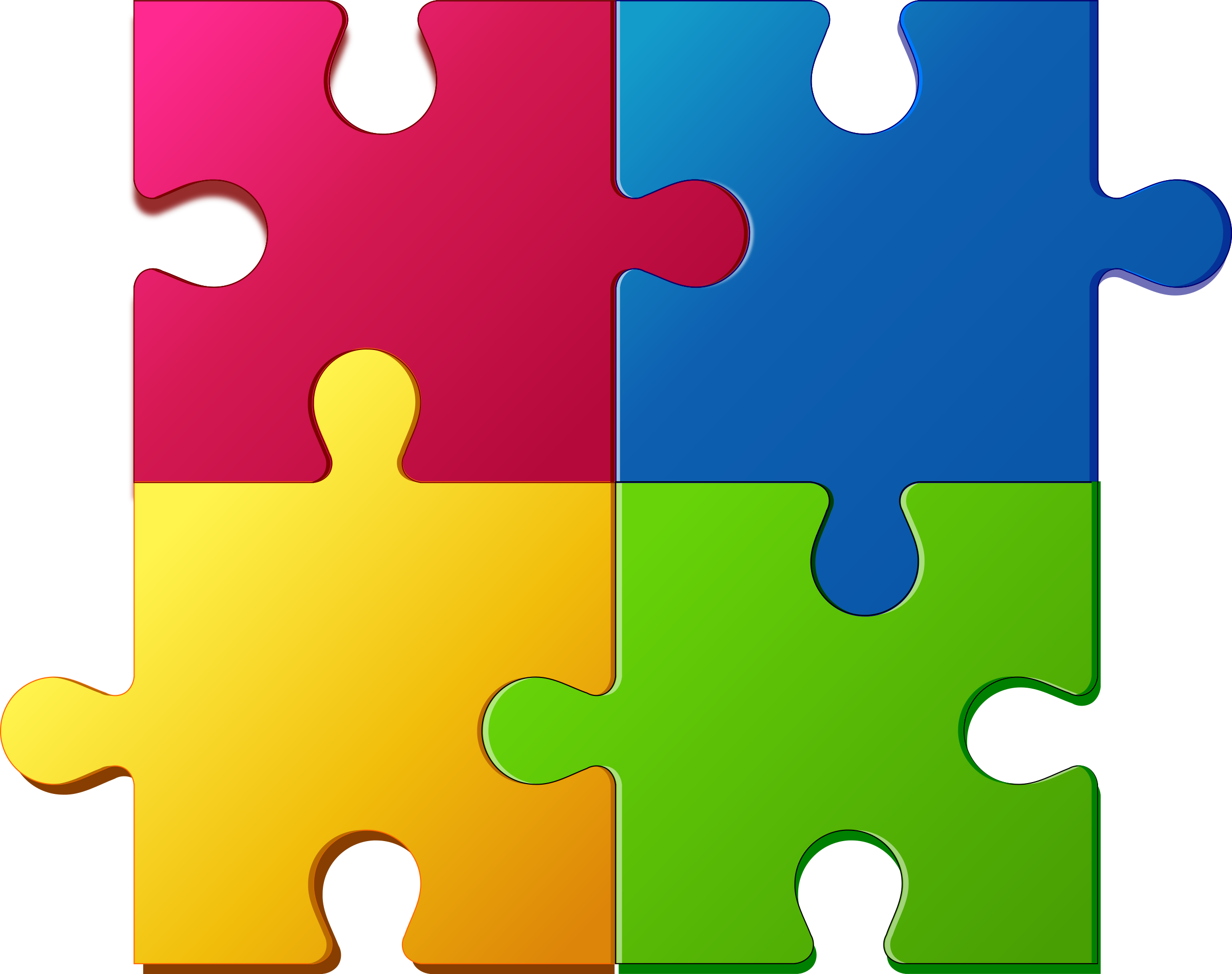 puzzles clipart jigsaw