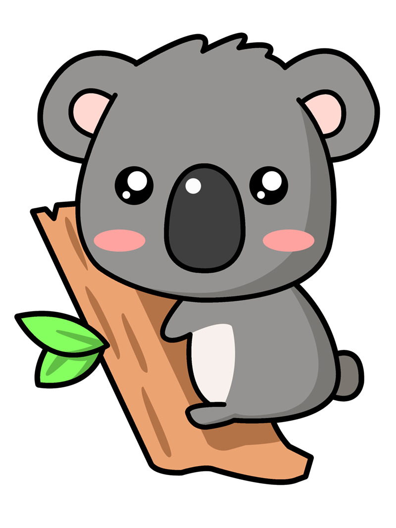 koala clipart animated