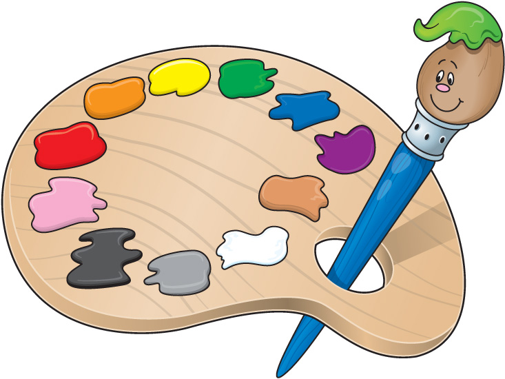 face painting clipart kid