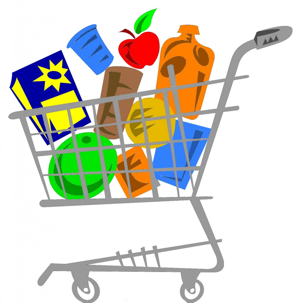 shopping carts clipart family grocery