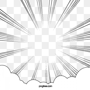action lines clipart