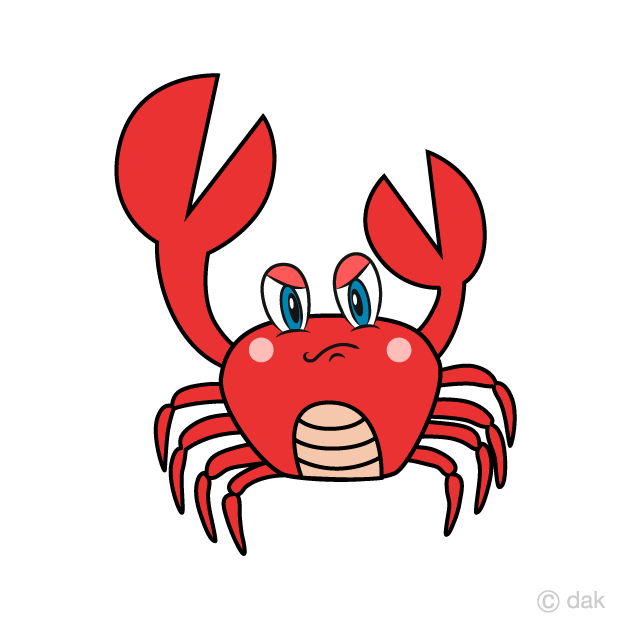 lobster clipart angry