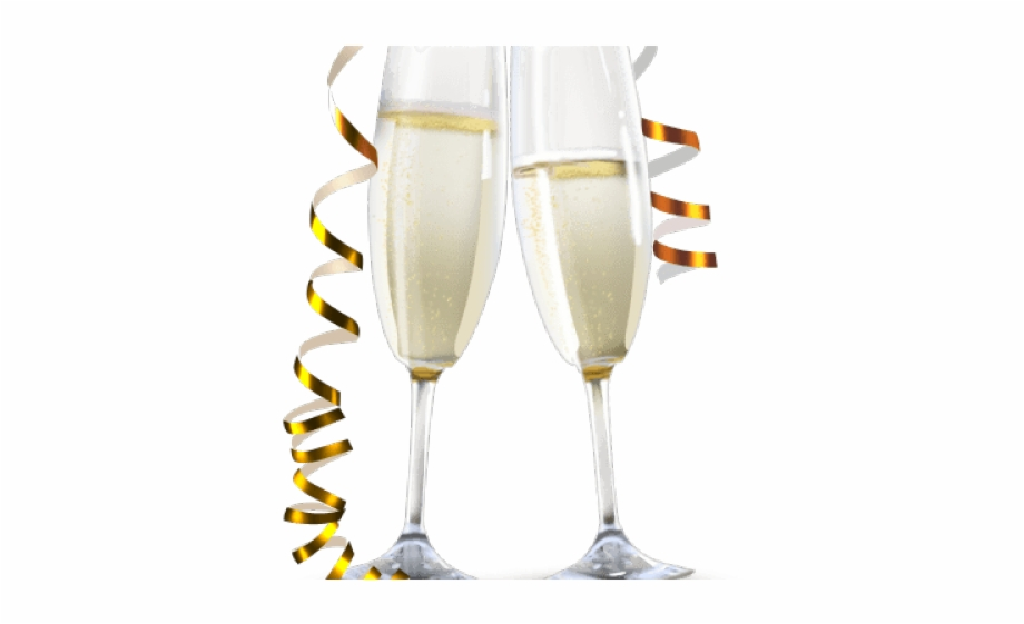 new year clipart champagne