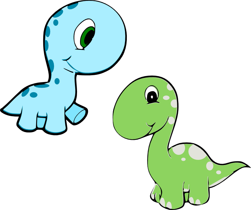 dinosaurs clipart baby