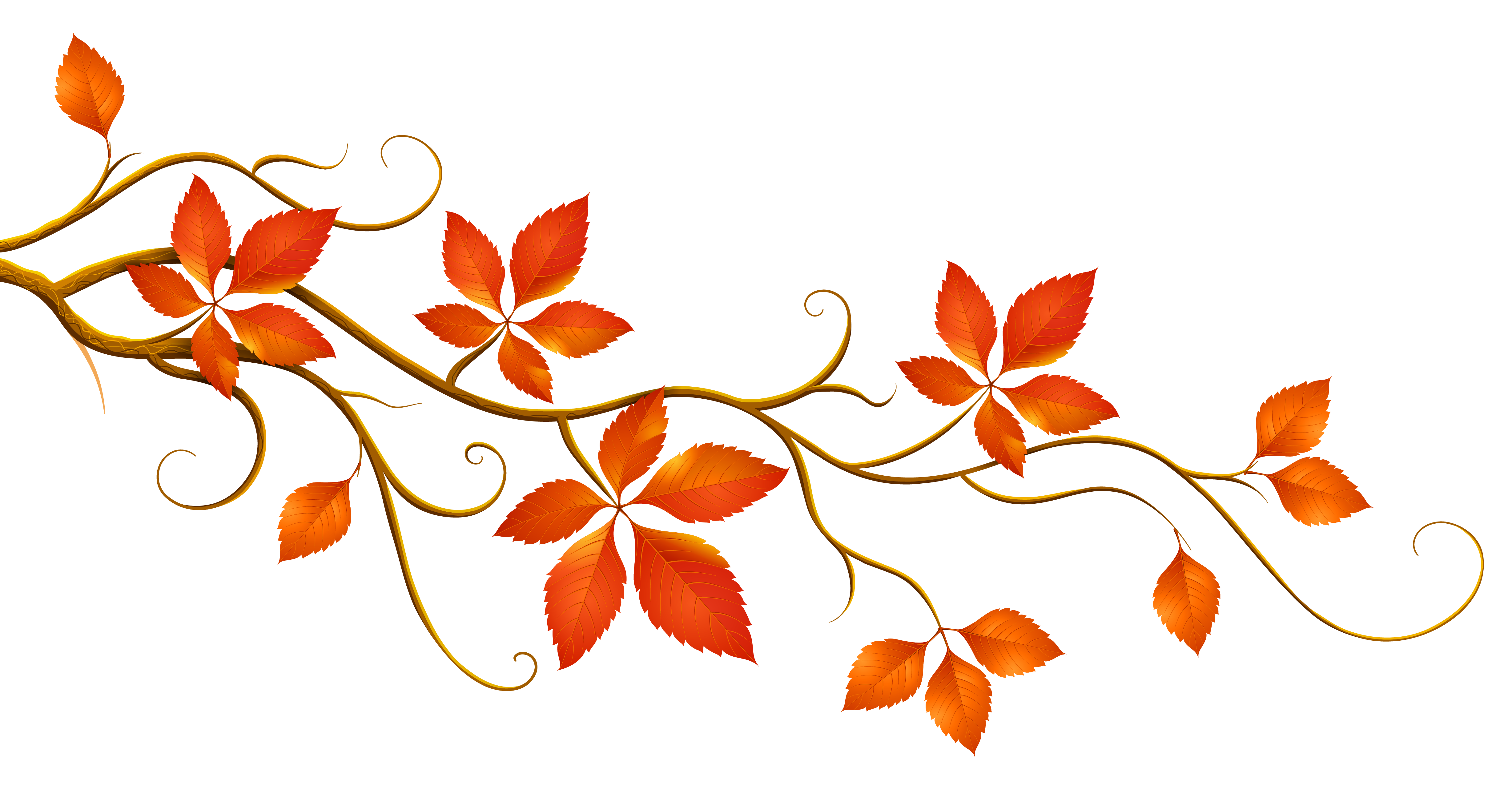 falling leaves clipart tree
