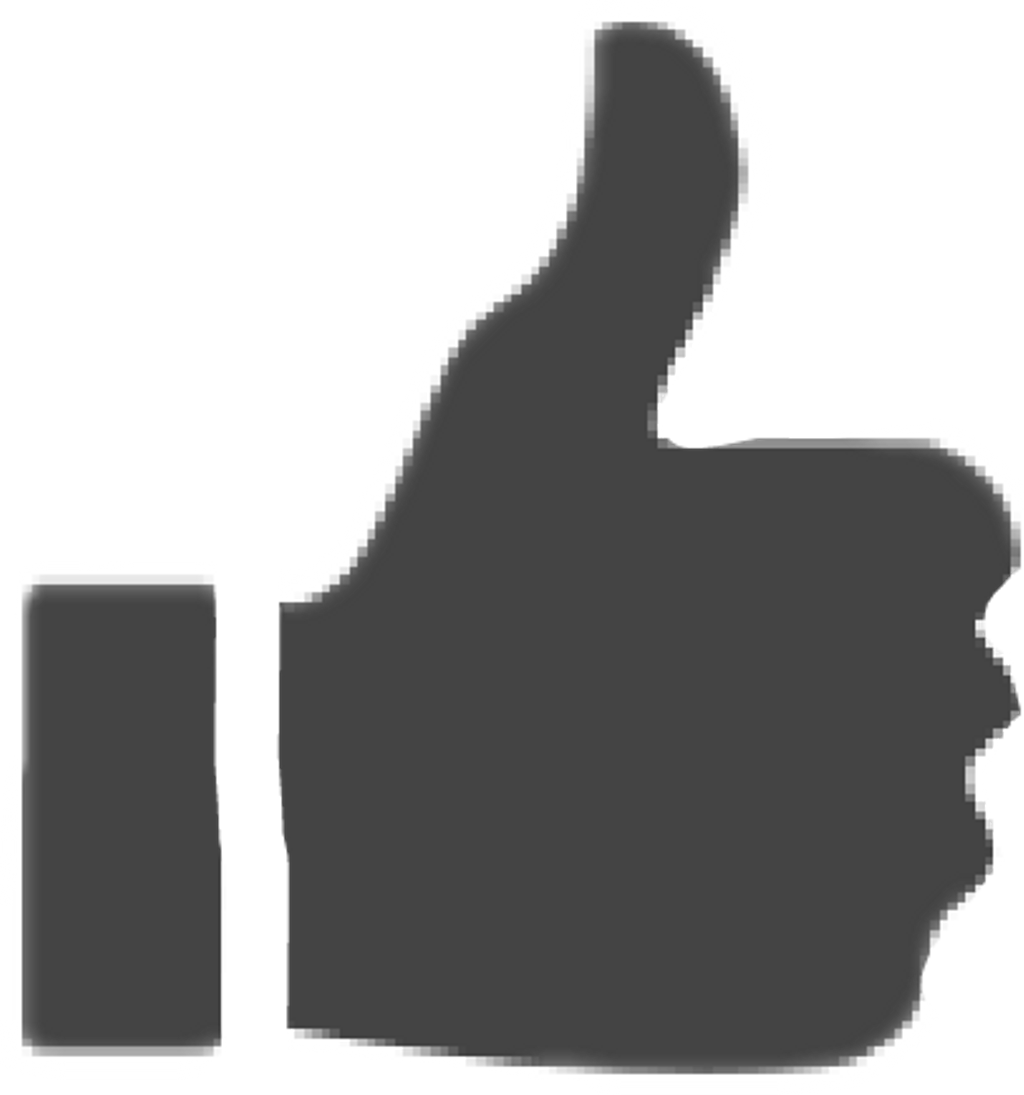 youtube like button clipart high resolution